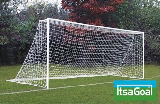 Football goal post anti vandal