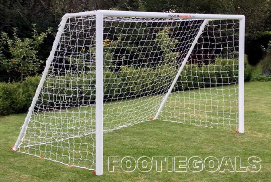 Garden Goal Posts Football Goals 8x6 For The Garden